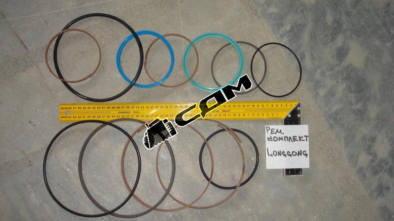 Ремкомплект  цилиндра управления ковшом (80х95) CDM843-71