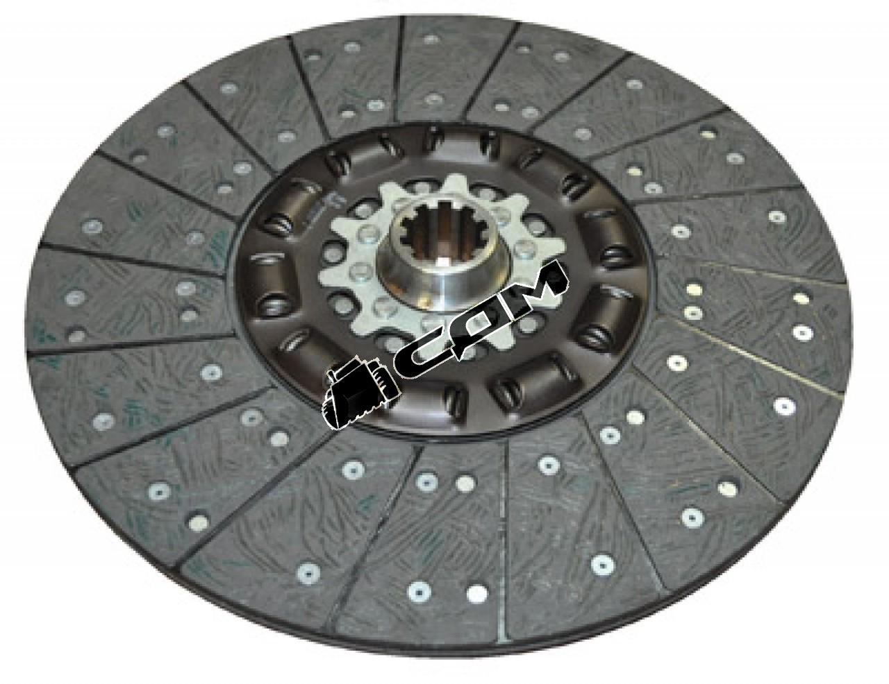 Диск сцепления ведомый HOWO 420мм  - Driven disk C WG1560161130